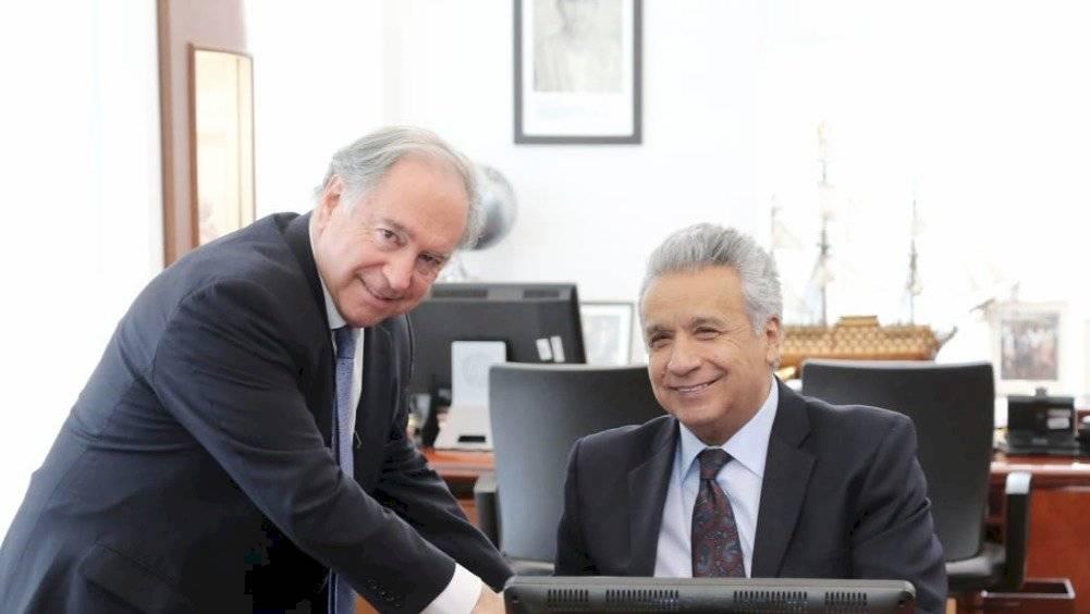 Lenín Moreno ratifica a los delegado de la ONU en Ecuador