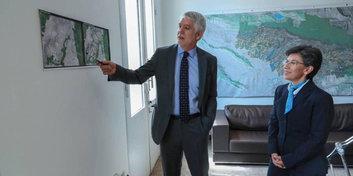 Empezó agenda de alcaldesa electa: se reunió con Duque y Peñalosa