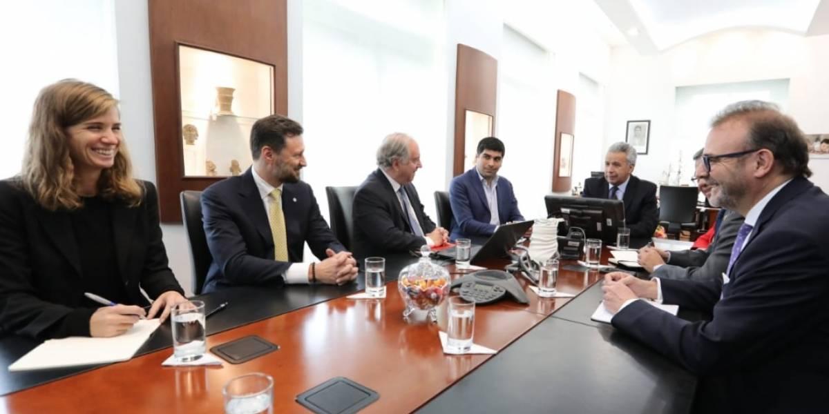 Lenín Moreno ratifica a los delegados de la ONU en Ecuador