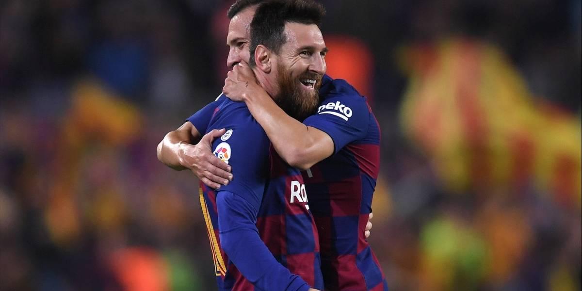 Â¡Messi recargado! Dos goles del crack para la goleada del Barcelona
