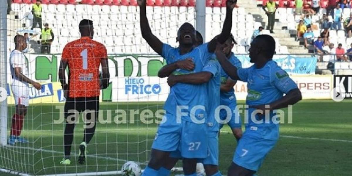 ¡Se queda Jaguares, se va el Huila! El partido del terror lo ganaron los cordobeses (1-0)