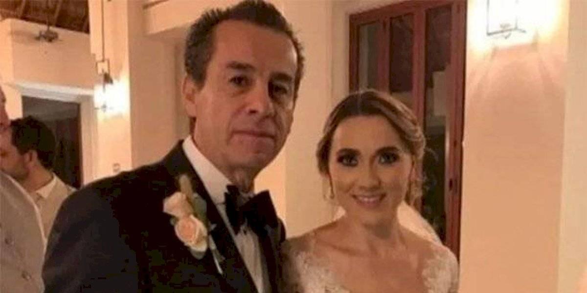 Ex alcalde de Tequisquiapan se casa con la viuda de su hijo fallecido