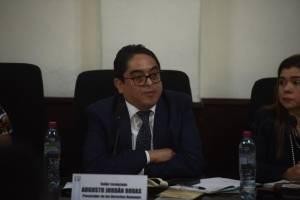 procurador de Derechos Humanos, Jordán Rodas, acude a citación de comisión de Derechos Humanos