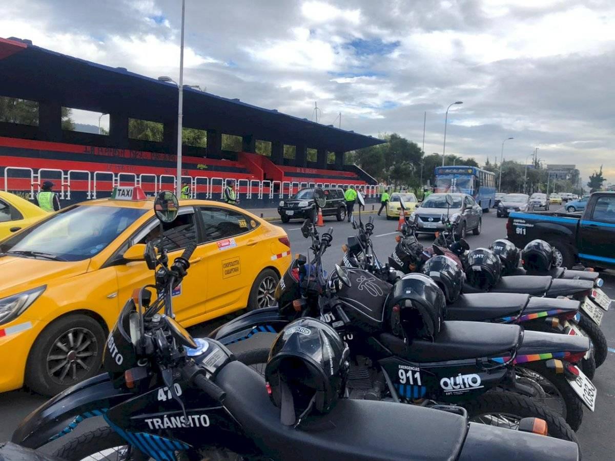 Controles vehiculares en Quito