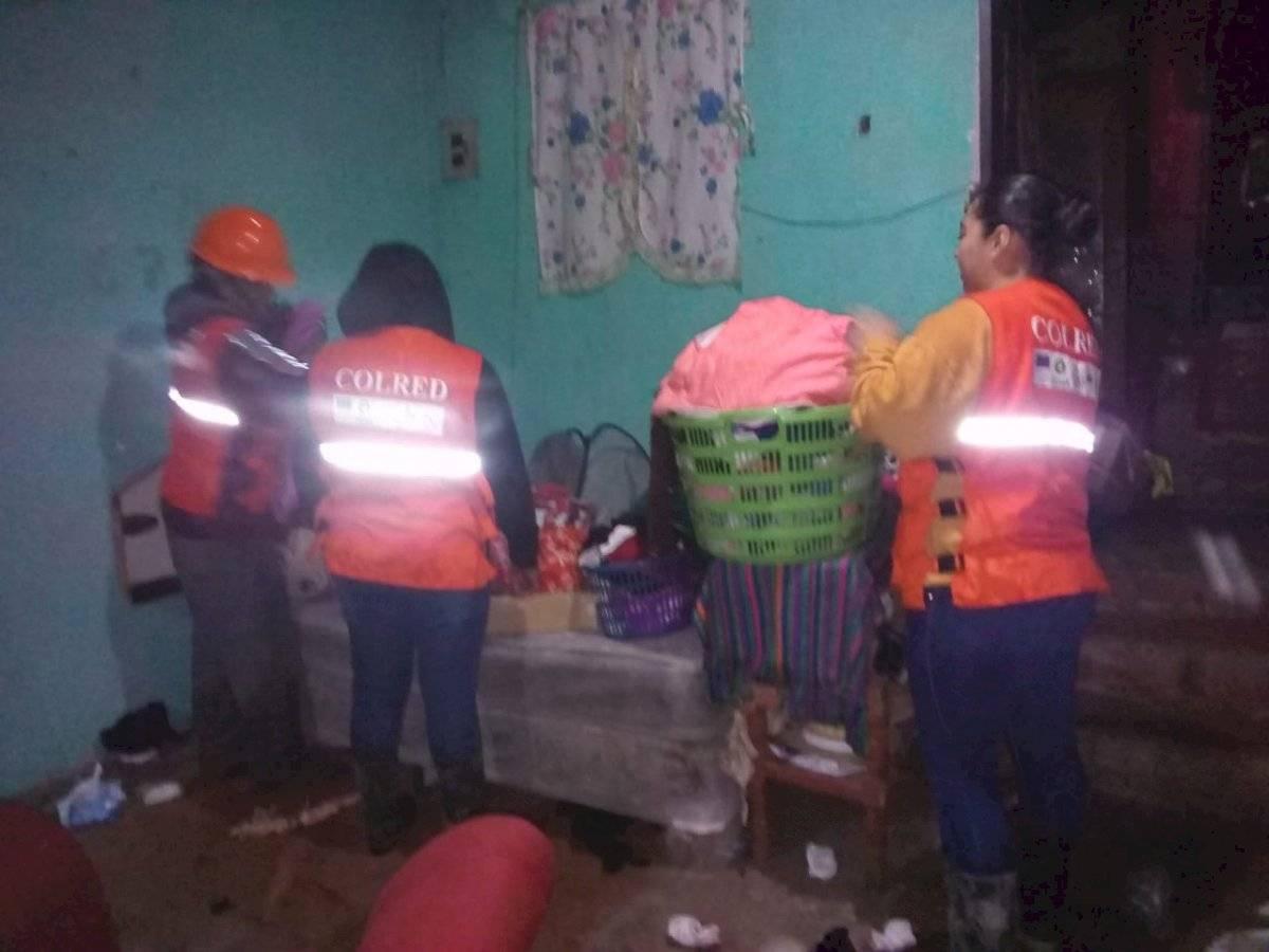 deslizamiento de tierra en Ciudad Peronia