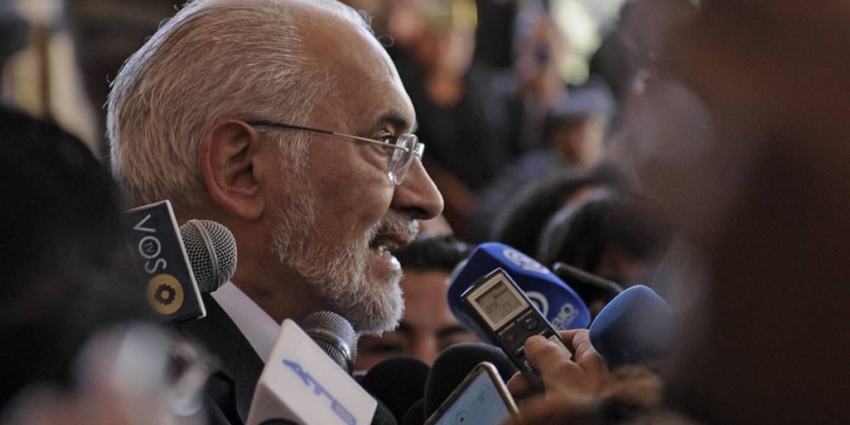Gobierno de Bolivia pide a opositor Mesa sumarse a auditoría electoral