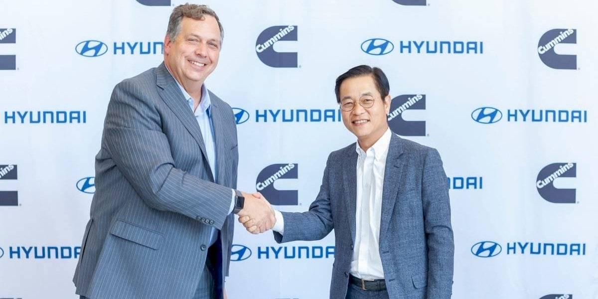 Hyundai y Cummins se unen para desarrollar celdas de combustible de hidrógeno