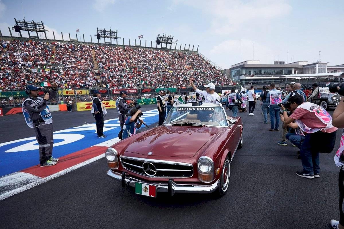 Mercedes-AMG Petronas Valtteri Bottas México