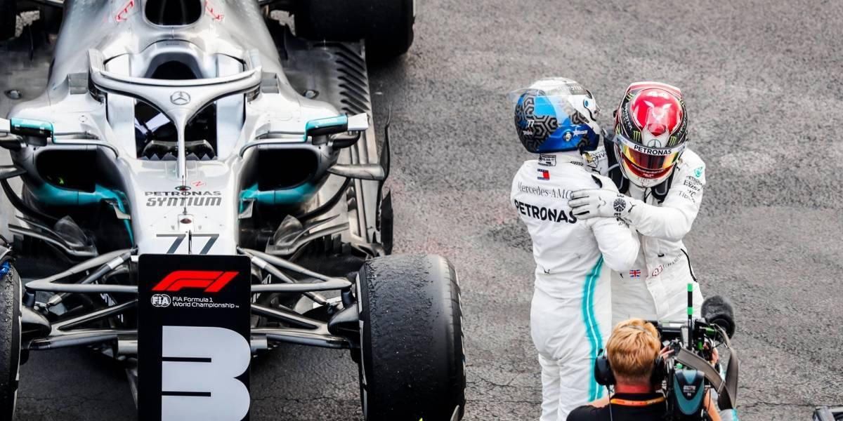 La victoria de Mercedes-AMG Petronas en palabras de Lewis Hamilton y Valtteri Bottas
