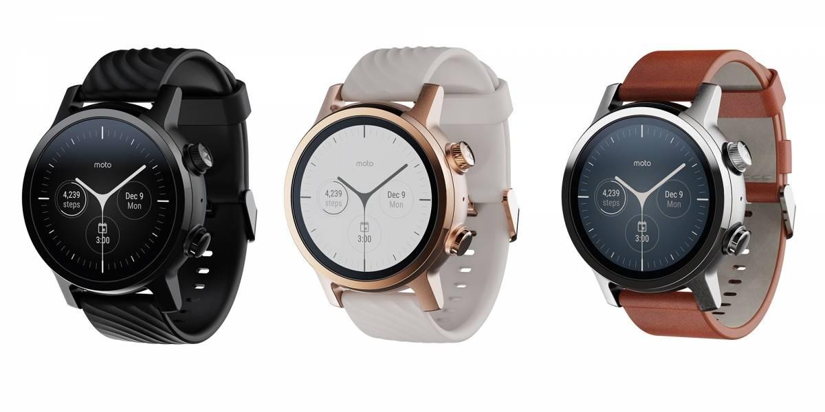 Vuelve el Moto 360, el reloj inteligente favorito de tantos