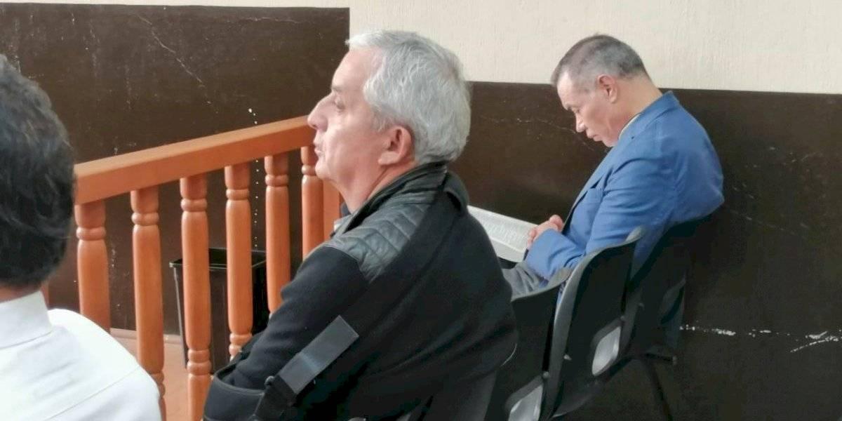 "MP pide ligar a proceso a Otto Pérez y otros sindicados en caso ""Red de Poder"""