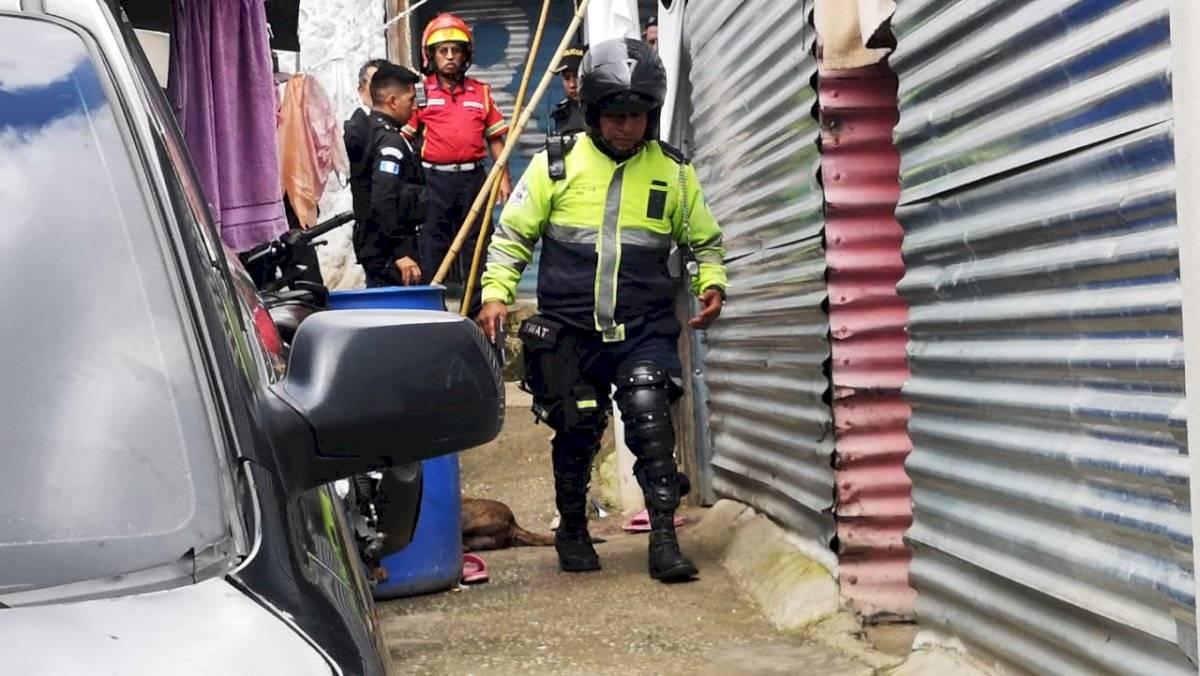 niña muere tras ser atacada por perro en Mixco