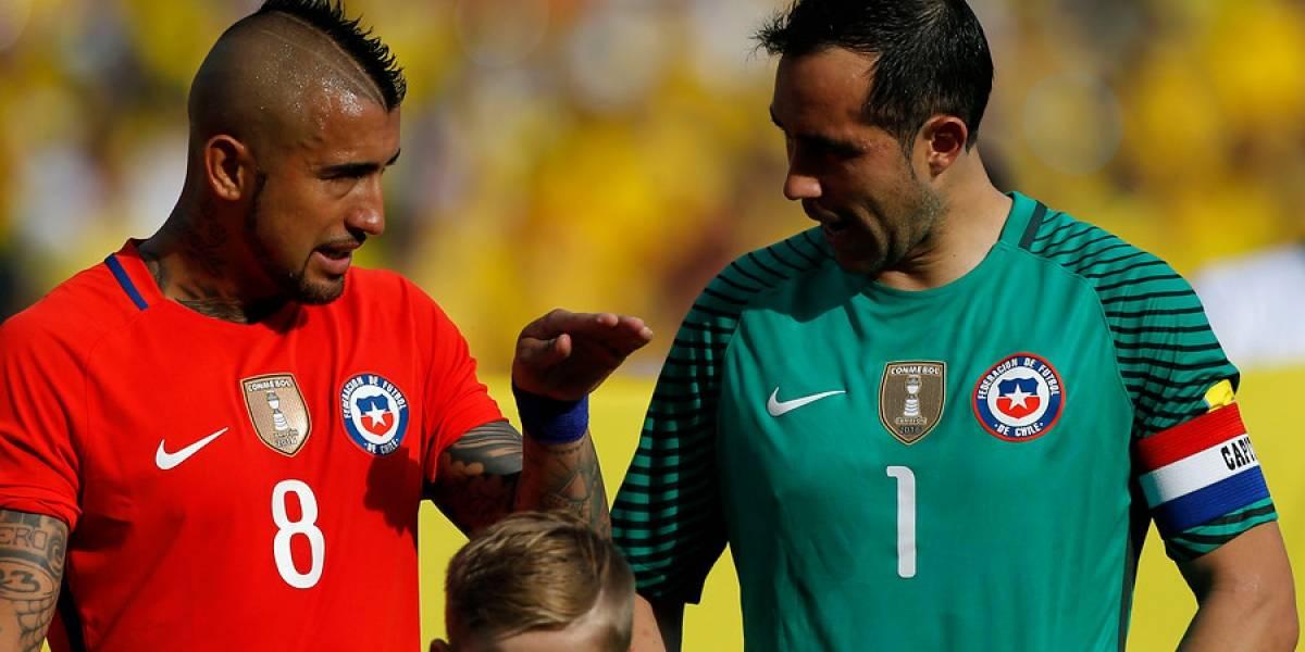 """Arturo Vidal rompe el silencio sobre Claudio Bravo: """"No somos ni seremos amigos, pero la selección es lo más importante"""""""