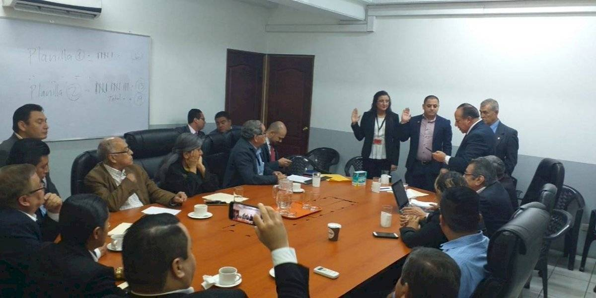 Representantes de Valor y PC asumen ante el Consejo Consultivo del Renap