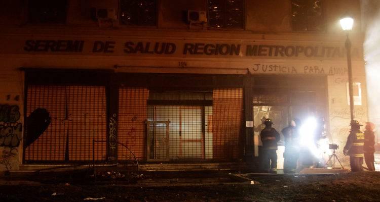 Chile: Vándalos destruyeron datos de licencias médicas en el Compin central