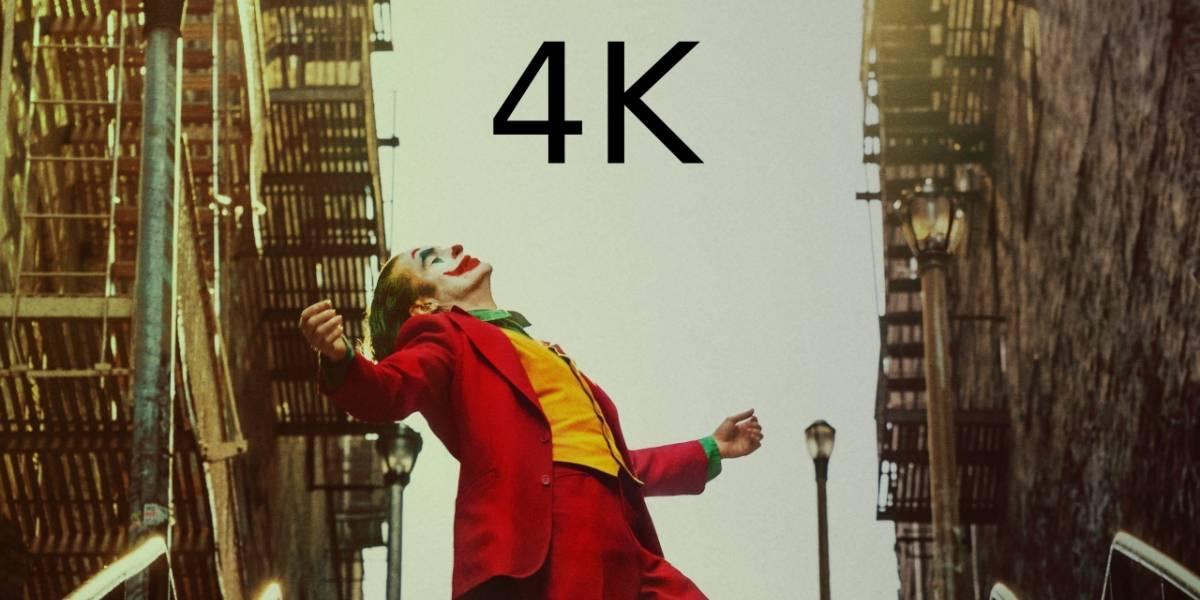 México: Joker será la primera película 4K que estará disponible en Google Play