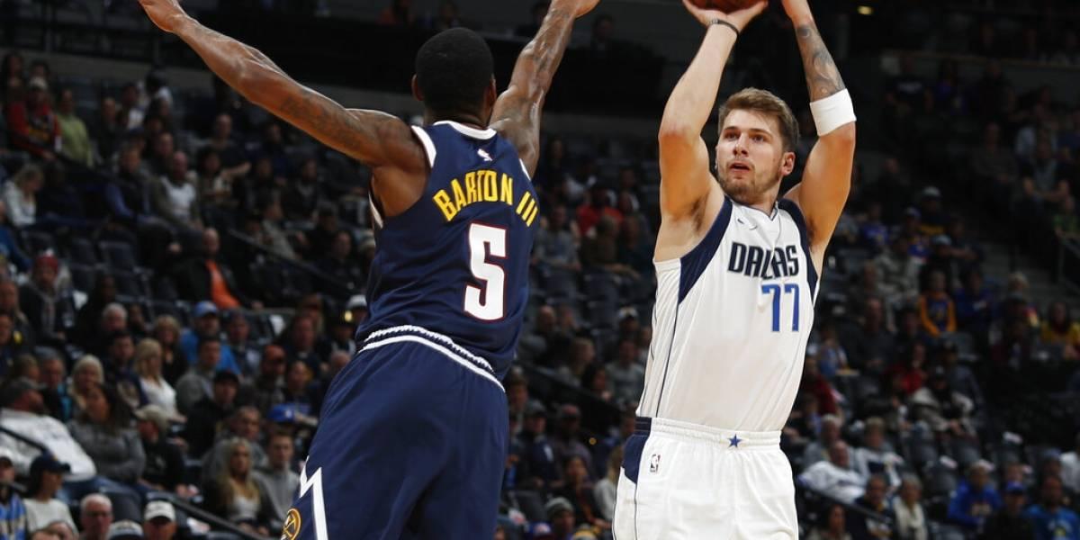 Dallas Mavericks superan a Denver y les quitan el invicto