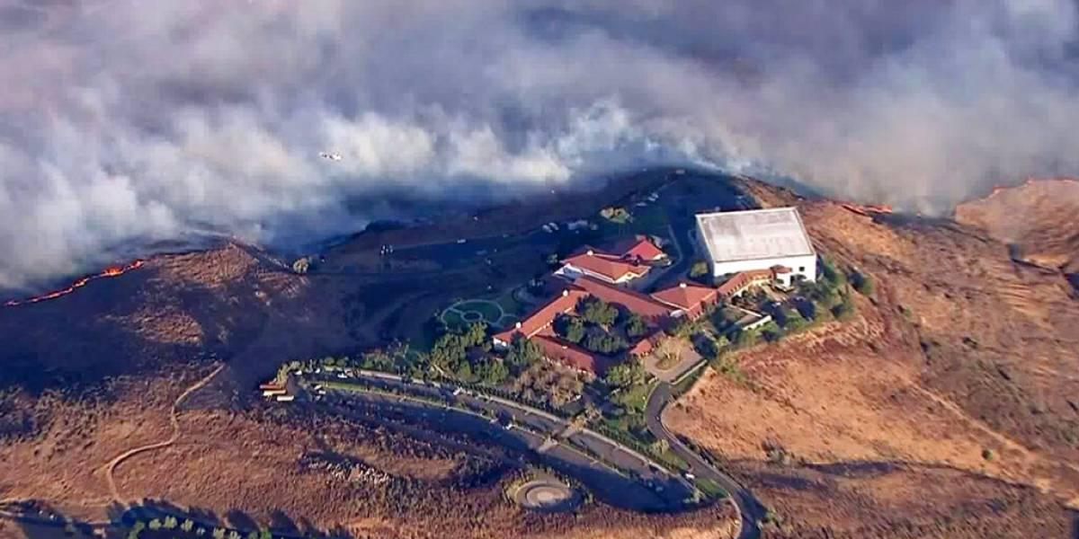 Nuevo incendio forestal impacta al sur de California
