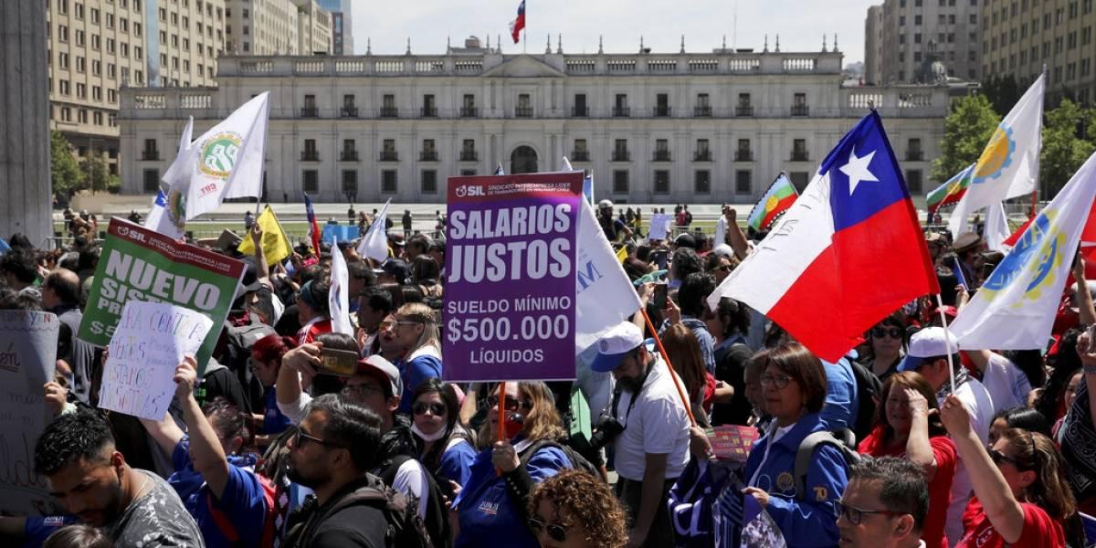 Presidente de Chile cancela eventos debido a protestas que se llevan a cabo en el país
