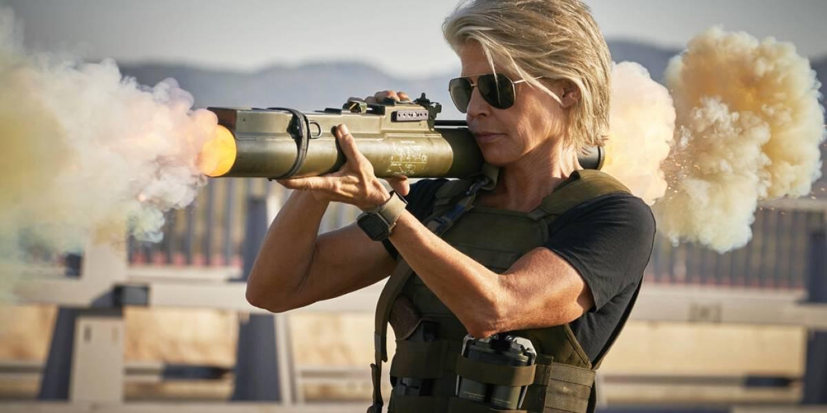 Linda Hamilton da lo mejor de sí en su regreso a Terminator