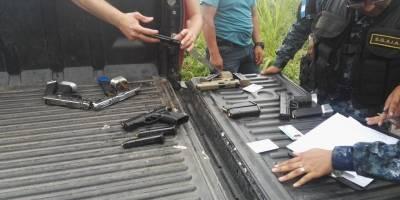allanamiento en casa del alcalde de Nueva Concepción
