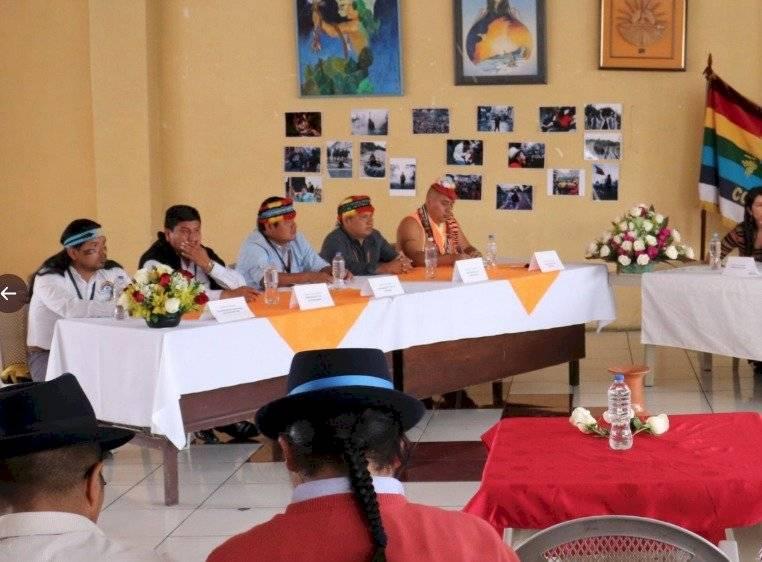 La Conaie mantuvo una reunión con una misión técnica de la Comisión Interamericana de Derechos Humanos (CIDH)
