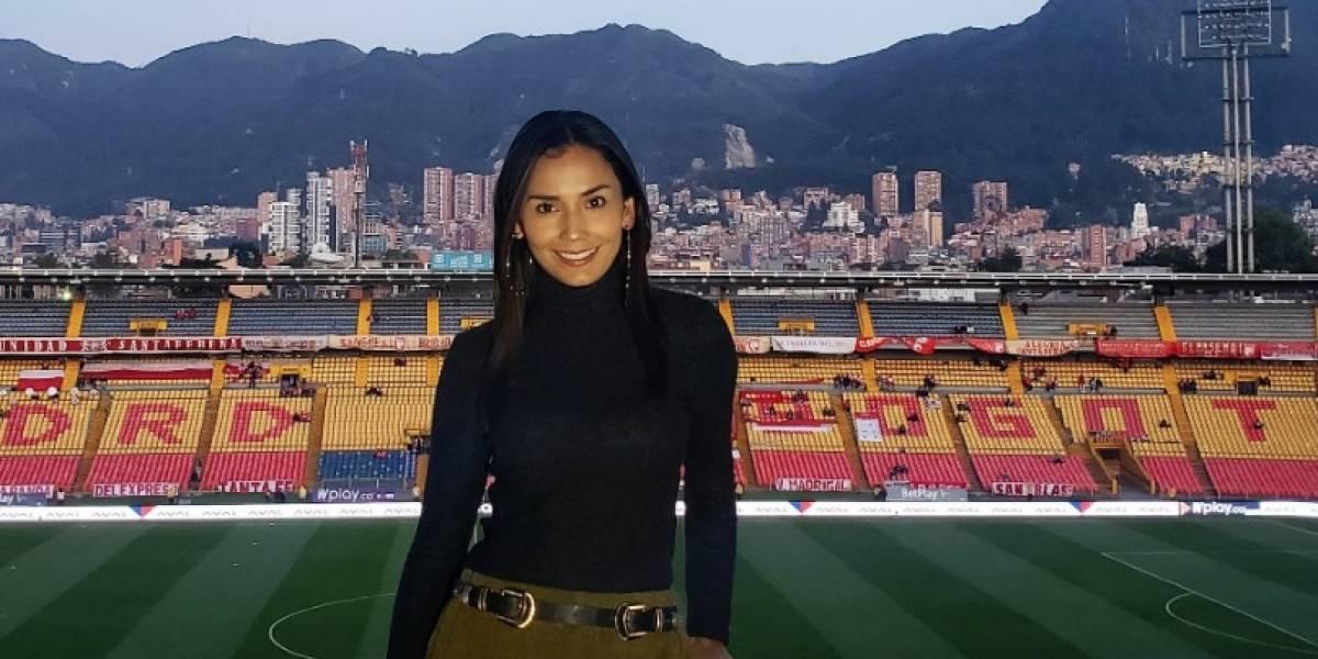 Así agradeció Diana Rincón la oportunidad de dejarla comentar en WIN Sports