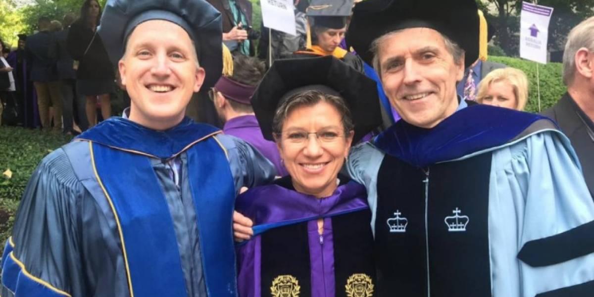 El efusivo mensaje de universidad estadounidense a Claudia López por triunfo