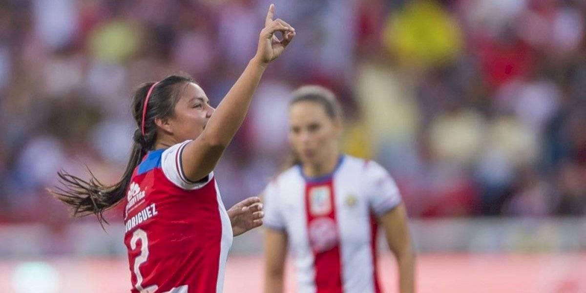 Chivas femenil está a sólo una victoria de la Liguilla
