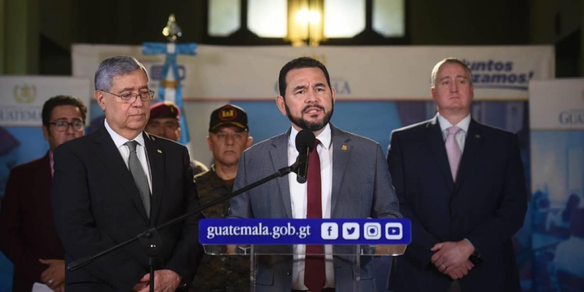 """Presidente destaca que con estado de Sitio se dio un """"golpe al narcotráfico"""""""