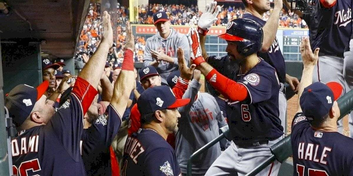 Nacionales supera a los Astros y obligan el 7mo juego de la Serie Mundial