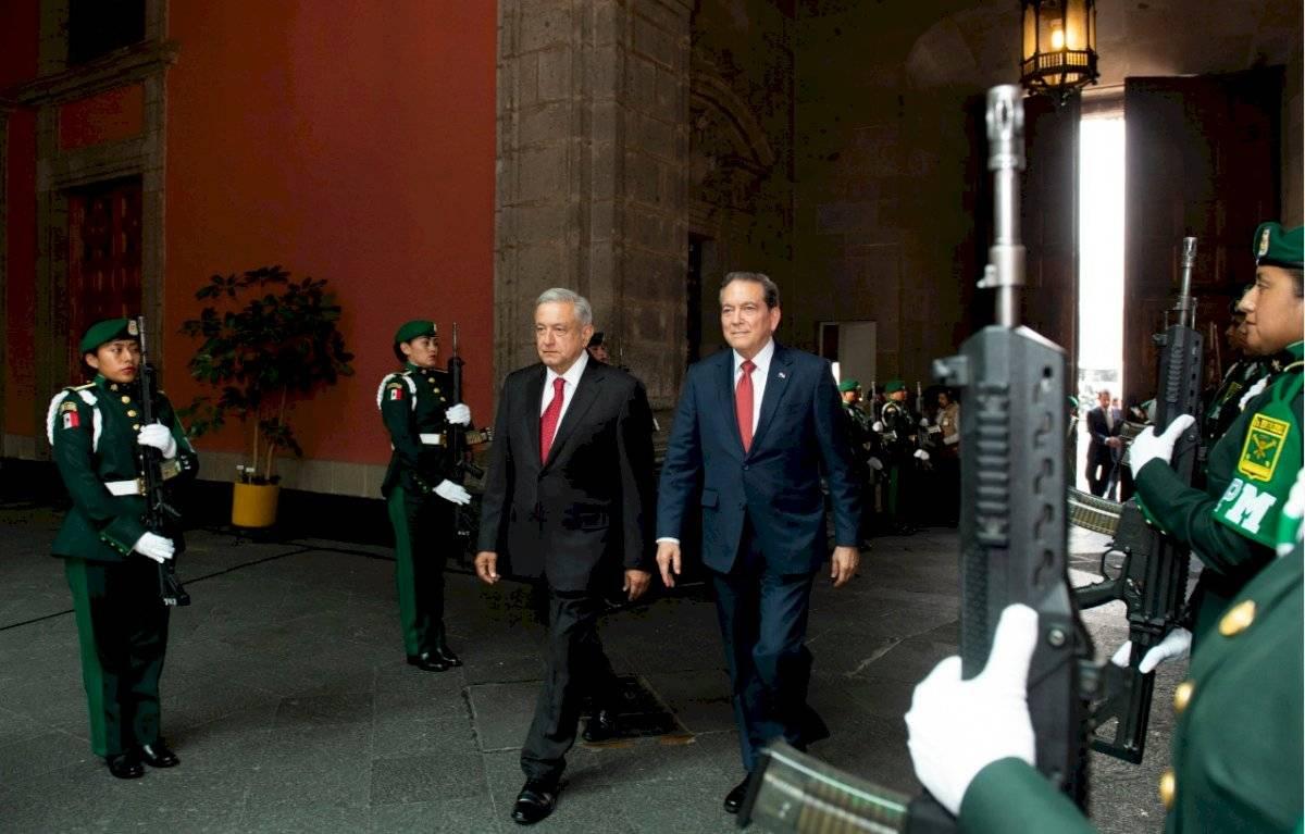 Visita oficial del presidente de Panamá, Laurentino Cortizo Cohen.