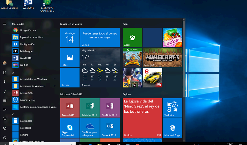 Cinco trucos para lograr una captura de pantalla en Windows 10