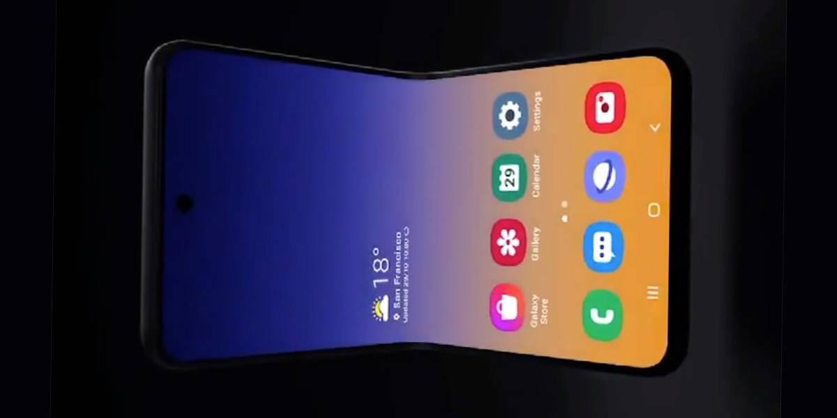 Samsung juega con nuestros sentimientos y muestra smartphone plegable vertical