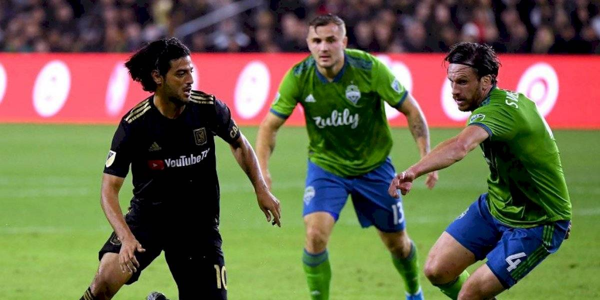 Seattle Sounders elimina al LAFC de Carlos Vela