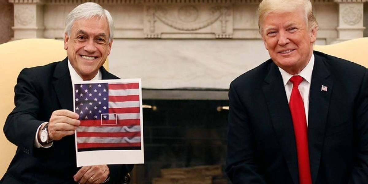 Donald Trump avisa a Piñera por supuesta injerencia rusa en Chile