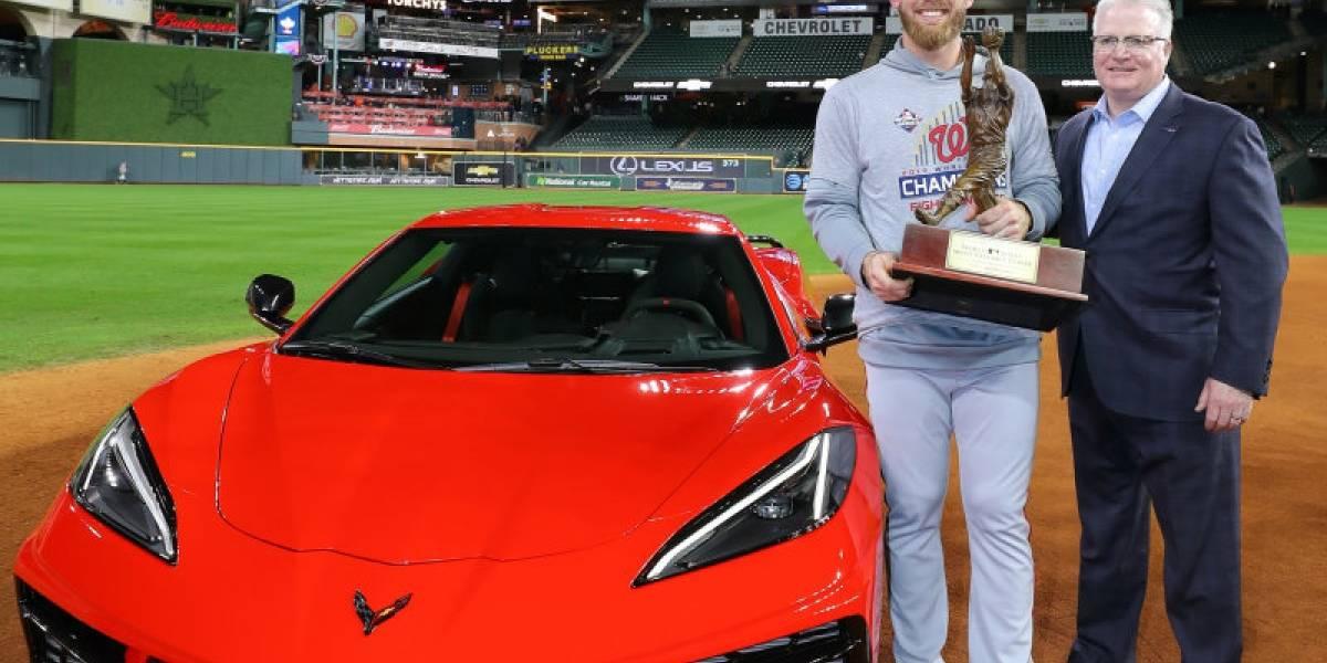 Ganaron los Nationals, y Stephen Strasburg se llevó un Corvette