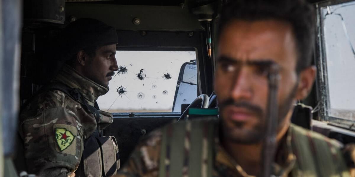 Turquía captura 18 soldados sirios