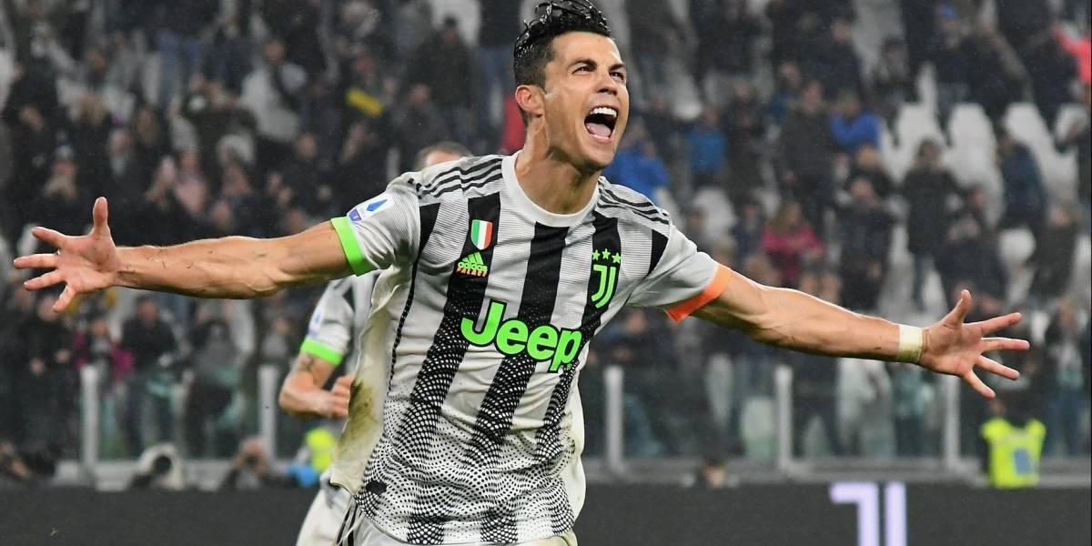 El escalofriante disfraz con el que Cristiano llegó al entrenamiento de Juventus