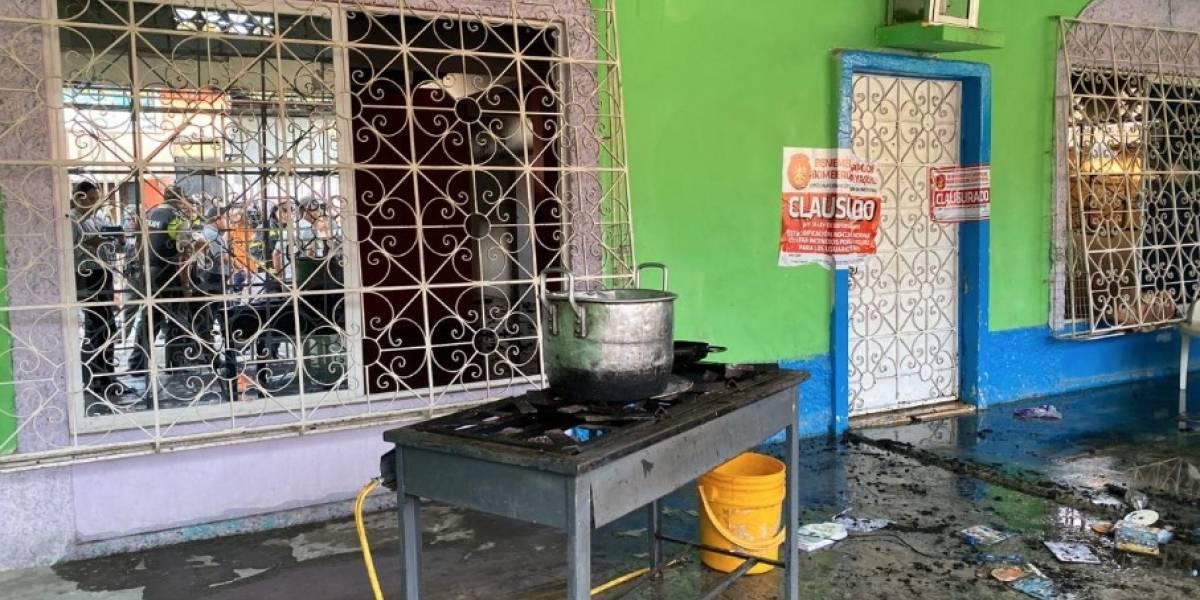 Guayaquil: En clínica de rehabilitación clandestina ocurrió un incendio