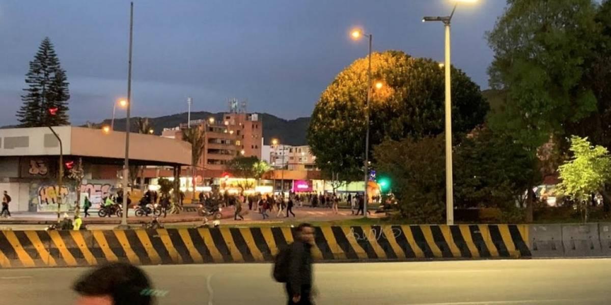Pánico por explosión en parqueadero del norte de Bogotá