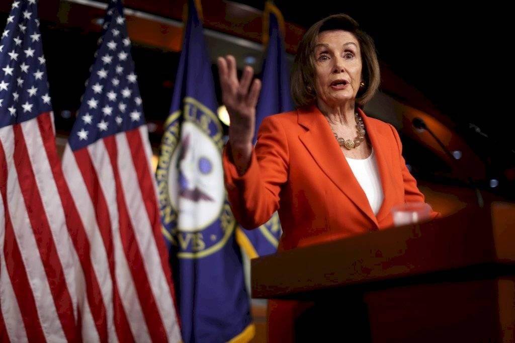 Nancy Pelosi, jefa de los demócratas en el Congreso