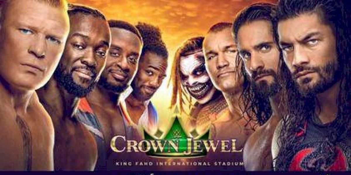 WWE Crown Jewel: lucha de la buena en Arabia Saudita