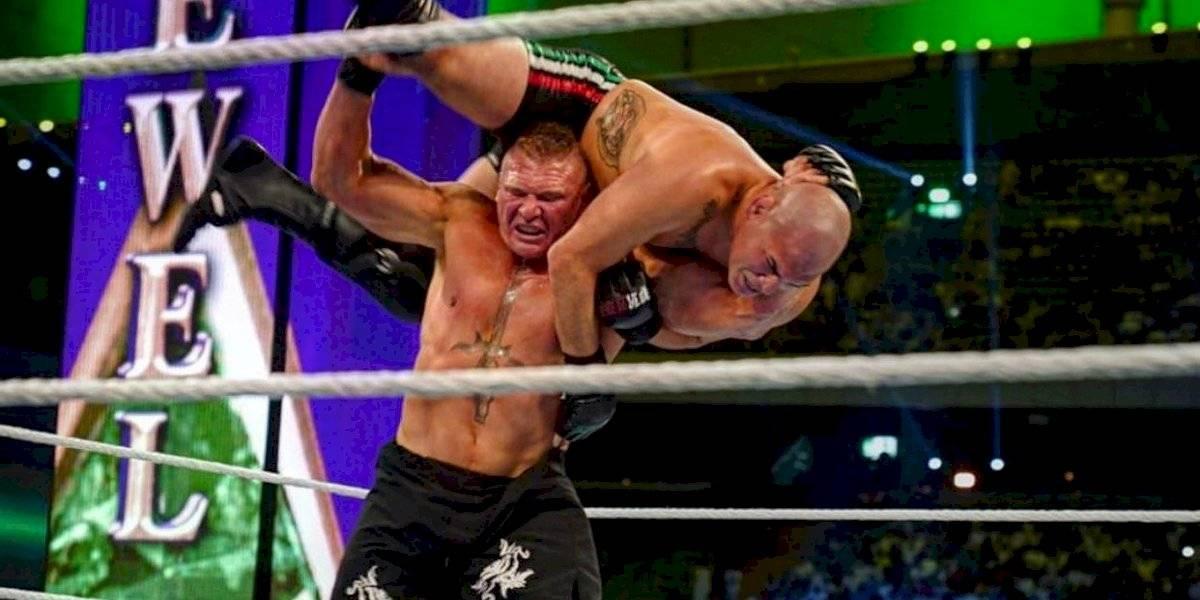 Caín Velázquez es derrotado por Brock Lesnar en debut con WWE