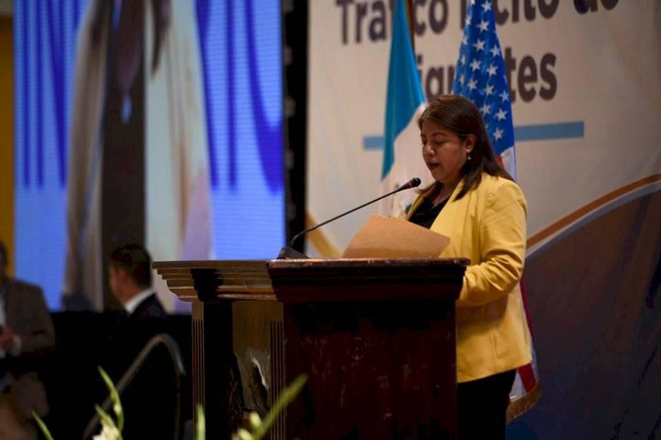 Fiscal Vilma González asumirá el liderazgo de la nueva unidad de investigación del MP. Foto: Oliver de Ros