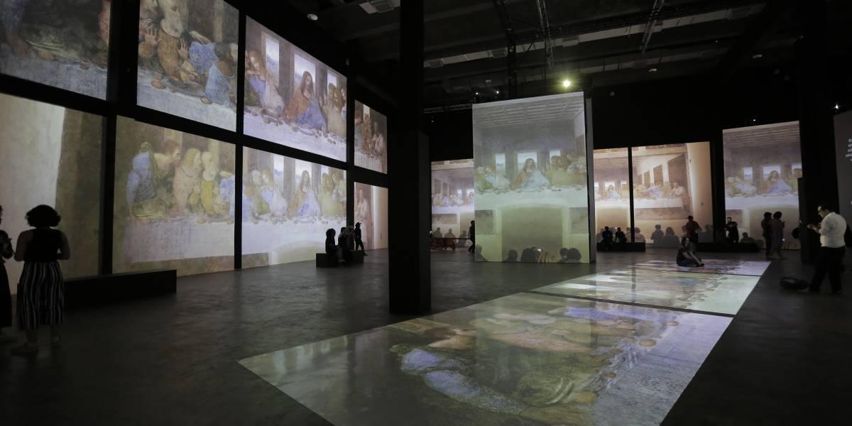 Das pinturas aos projetos militares, MIS Experience explora obra de Leonardo da Vinci