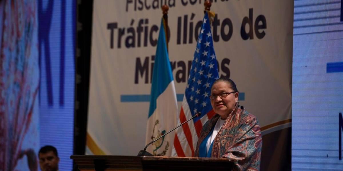 MP inaugura Fiscalía contra el Tráfico Ilícito de Migrantes