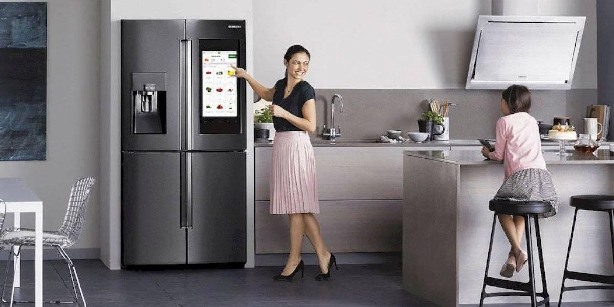 Samsung presentó nueva línea de refrigeradoras inteligentes