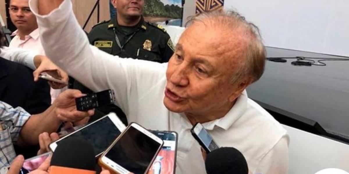 Una vez elegido su reemplazo, Rodolfo Hernández se refirió a la opción de ser presidente
