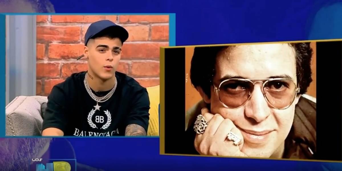 Lunay confunde a Héctor Lavoe con Frankie Ruiz